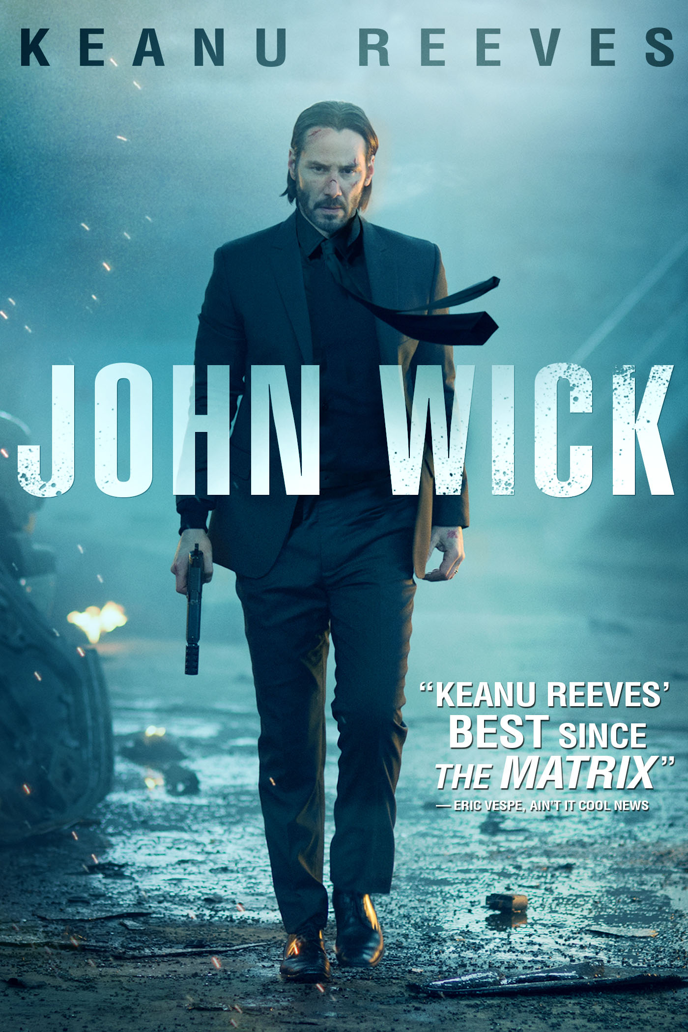 "cover design for ""John Wick"""