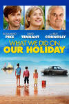 "cover design for ""What We Did On Our Holiday"""