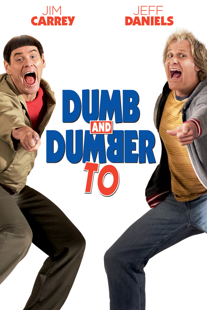 "cover design for ""Dumb and Dumber To"""