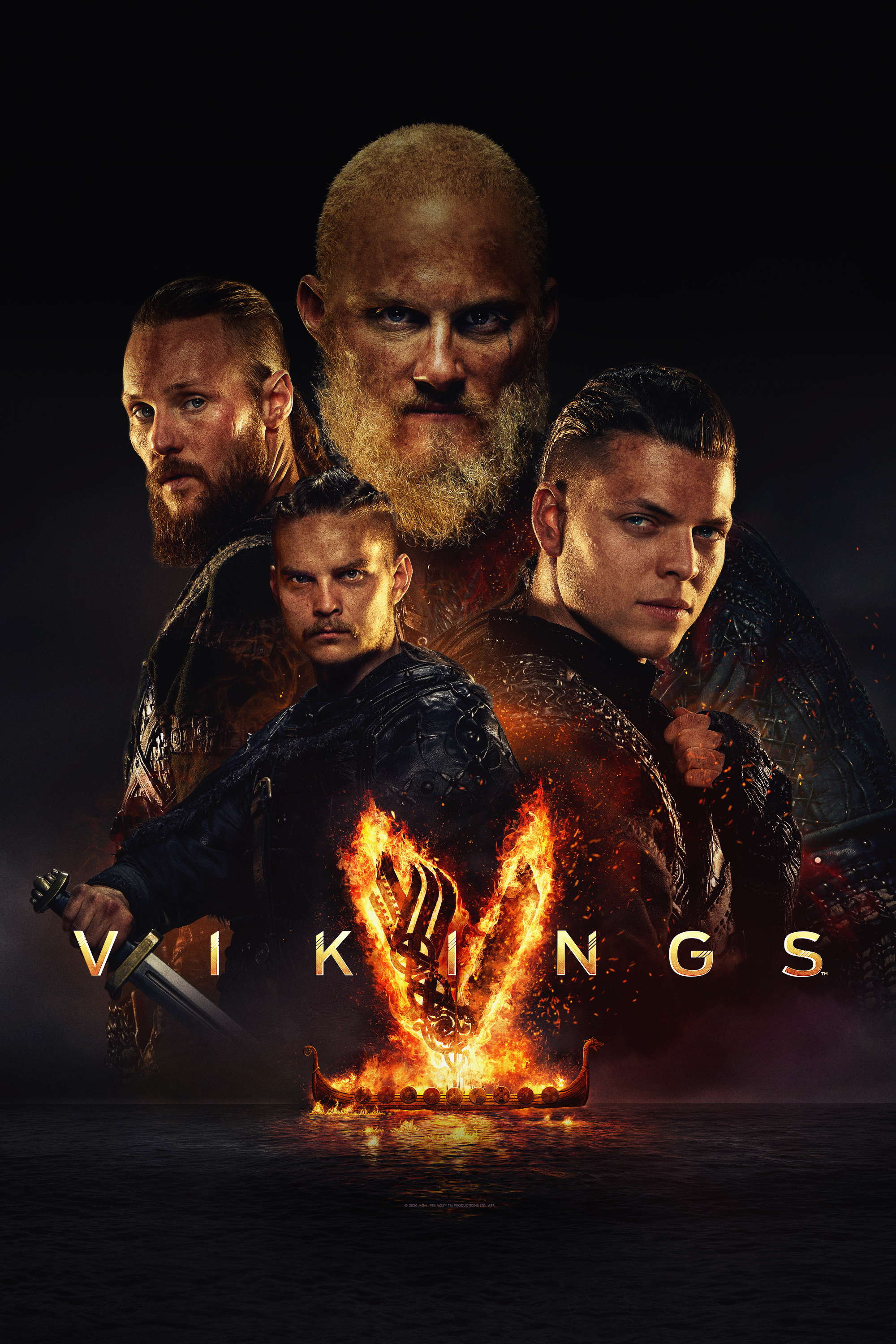 "cover design for ""Vikings"""
