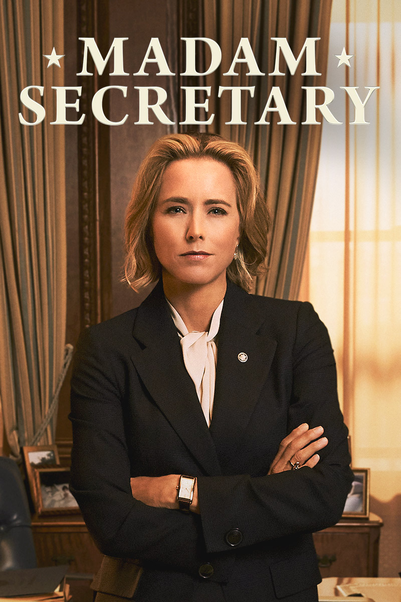 "cover design for ""Madam Secretary"""