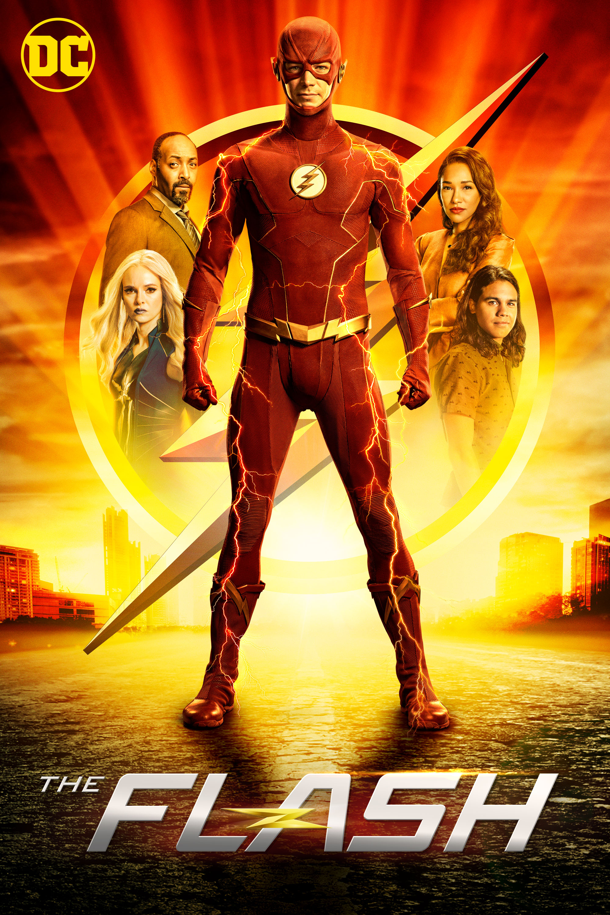 "cover design for ""The Flash"""