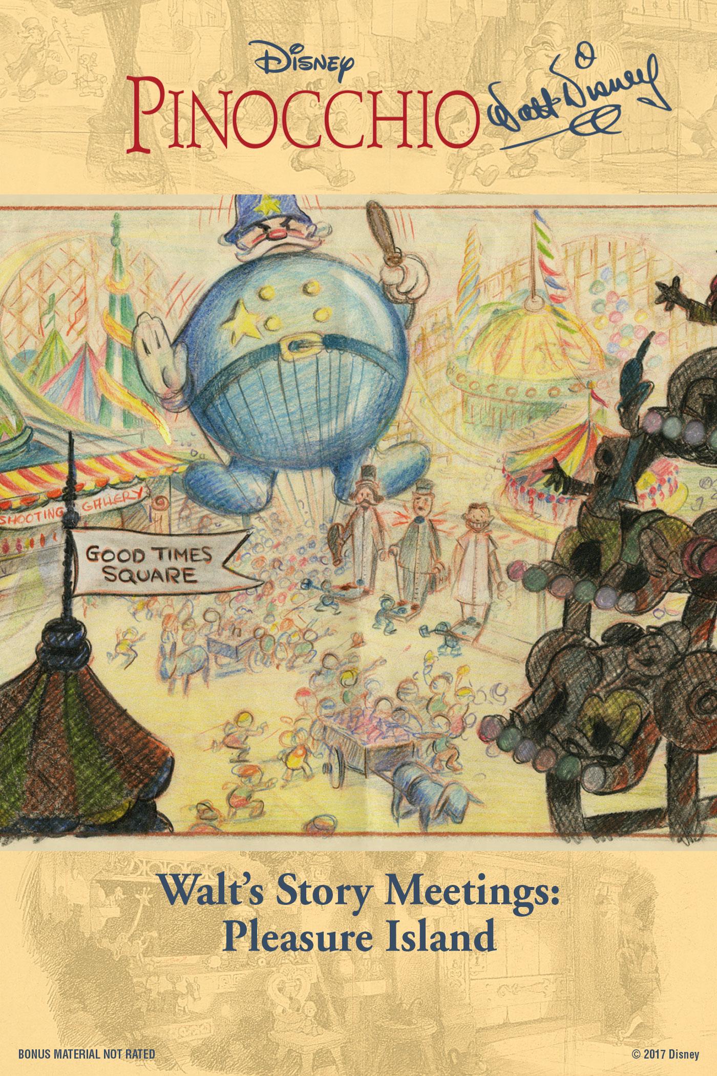 Walt's Story Meetings: Pleasure Island