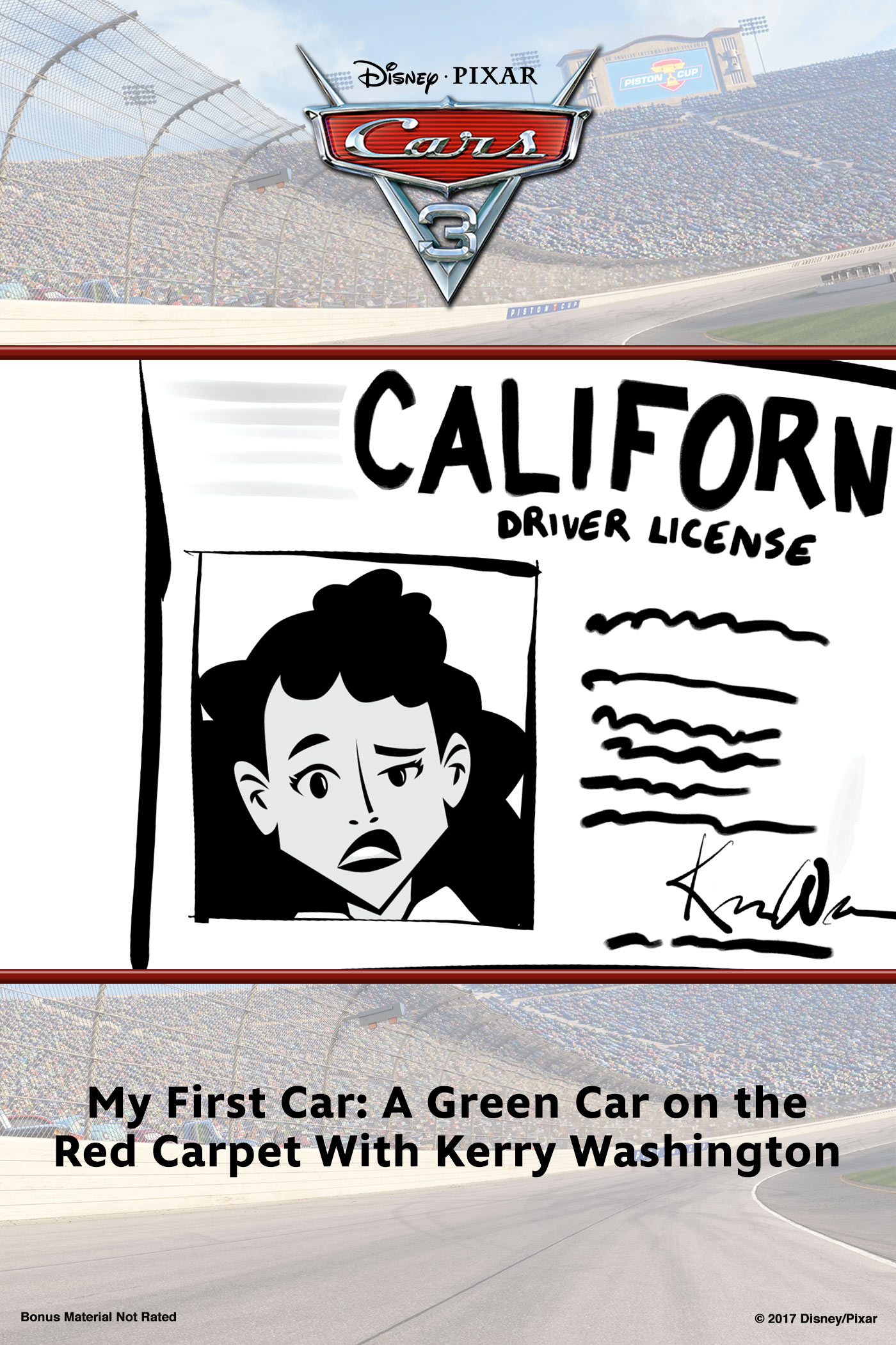 My First Car: A Green Car on the Red Carpet With Kerry Washington